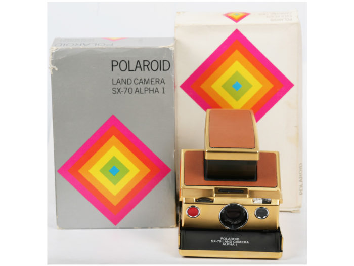 Polaroid Alpha 1 Gold